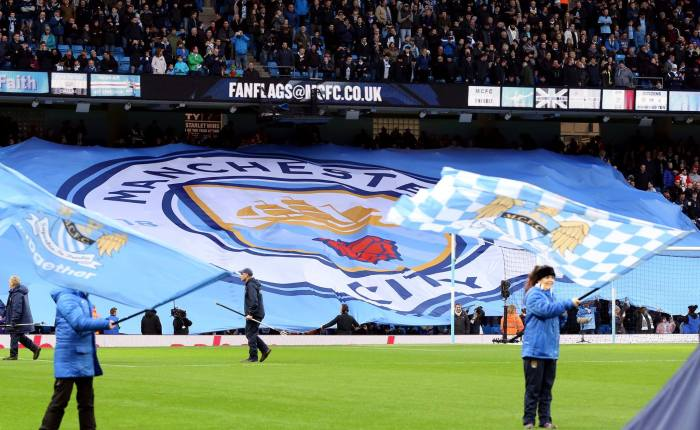 Novo escudo do Manchester City