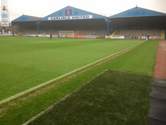 Estádio do Carlisle United foi usado nas filmagens : https://www.facebook.com/carlisleunitedfc/