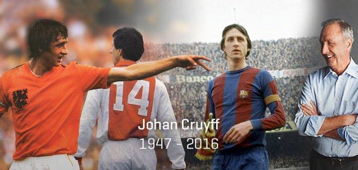 Johan Cruyff. Camisa #14 do time dos sonhos de todos ostempos.