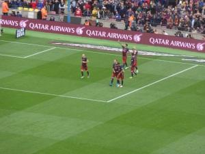 Suárez deixou dois gols.