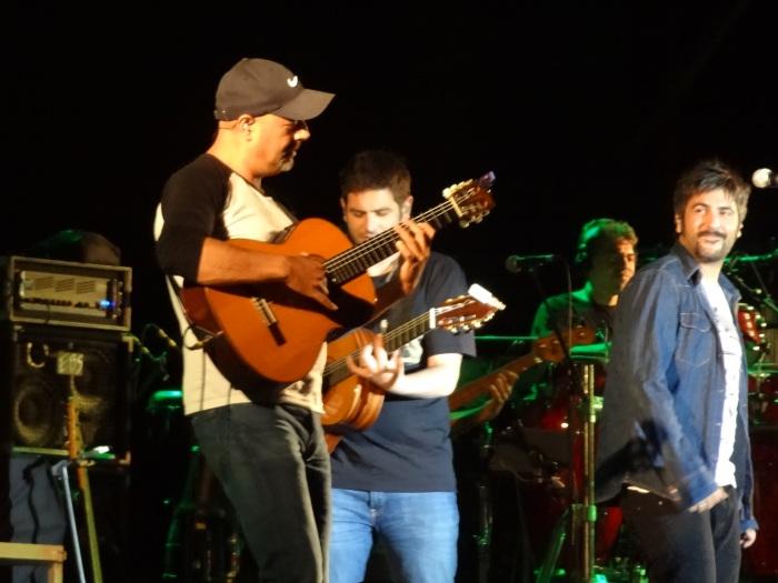 Juan Maya, guitarra flamenca nos discos e shows do Estopa