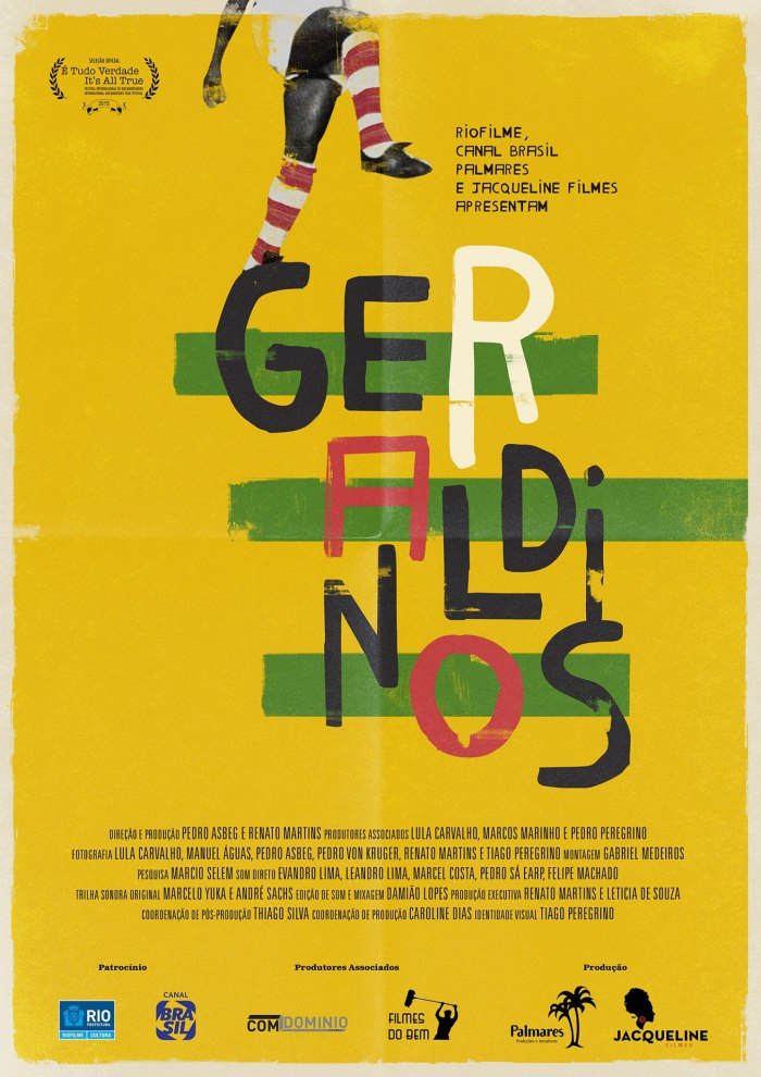 "Cartaz do filme ""Geraldinos"": https://www.facebook.com/geraldinosdoc"
