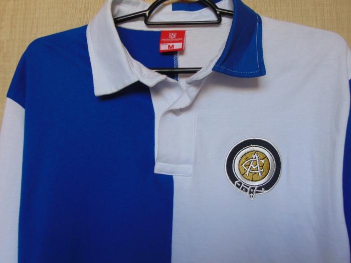 O primeiro uniforme dos hoje rojiblancos era assim: como o Athletic Club, de Bilbao, que inspirou a criação do Atlético de Madrid.
