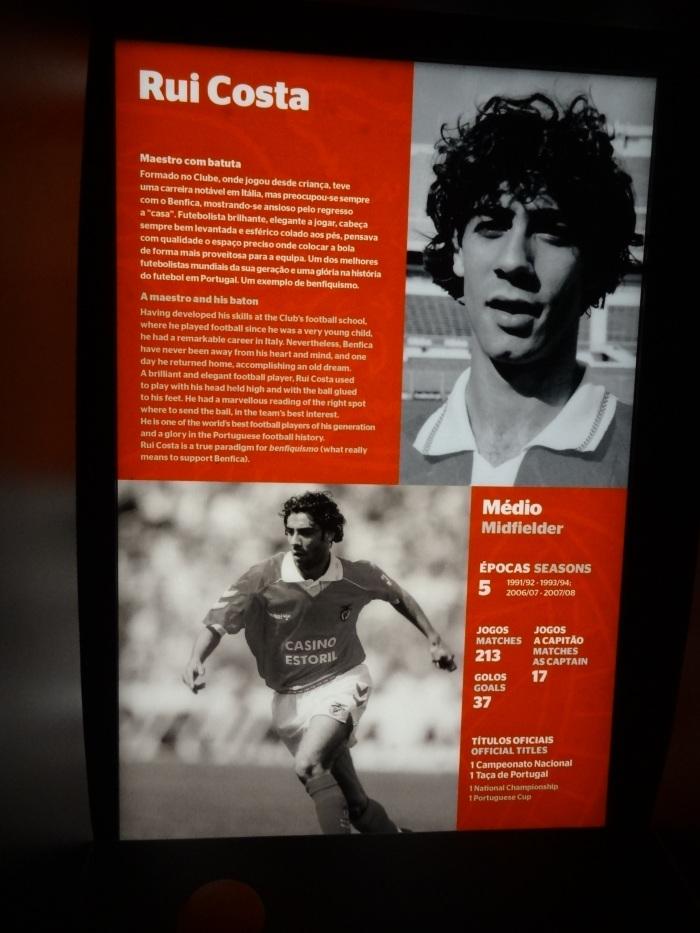 Rui Costa, na lista dos inesquecíveis