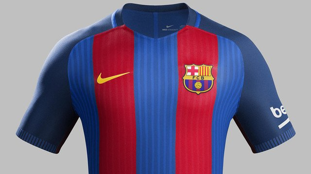 Barça: Home kit 2016-17