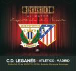 O poster urnano criado pela agencia Hugin & Munin para promover Lega x Atleti:  facebook.com/ClubDeportivoLeganes/