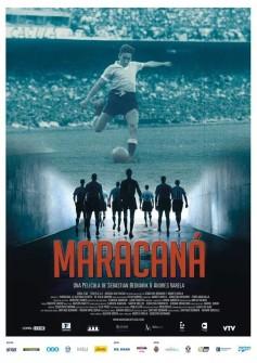 """Cartaz original do documentário """"Maracanã _ O Filme"""", de Sebastián Bednarik e Andrés Varela. Na mostra Cinefoot do Canal Brasil, passa em 25 de janeiro. Dez da noite!"""