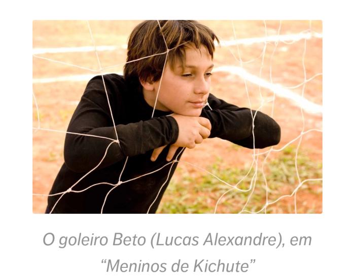 "Mostra Cinefoot: ""Meninos de Kichute'. Canal Brasil, terça,13h30."