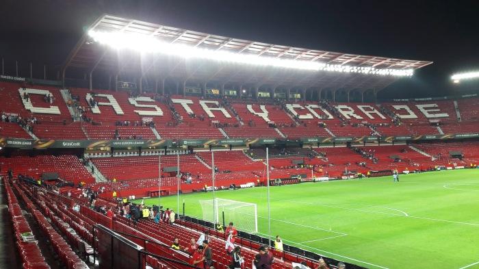 Estádio Ramón Sánchez-Pizjuán, do Sevilla, a 'bombonera deNervión'.