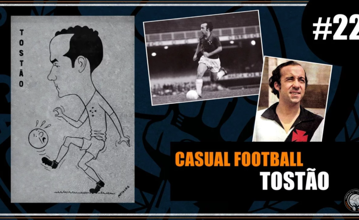 Tostão especial no @CasualF00tball #22.