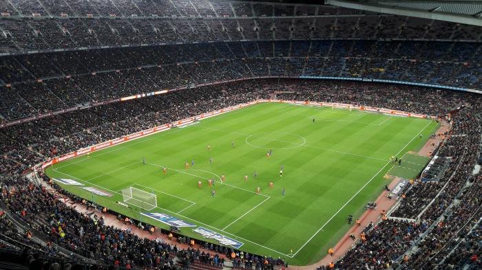 Camp Nou, 01/03/2017. Quando está