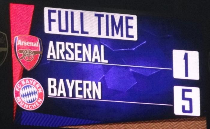 Passeio do Bayern emLondres