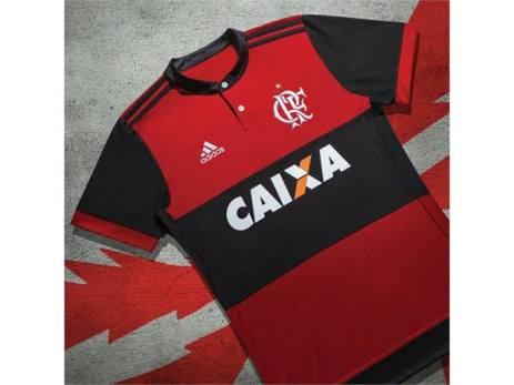 Camisa 1 do Flamengo 2017