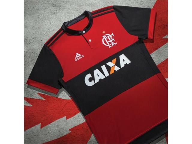 Camisa 1 do Flamengo 2017