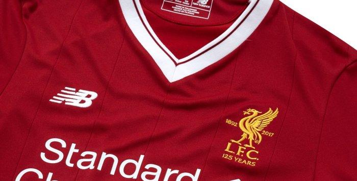 #YNWA: primeira camisa 2017-18 do Liverpool, que celebra 125anos!