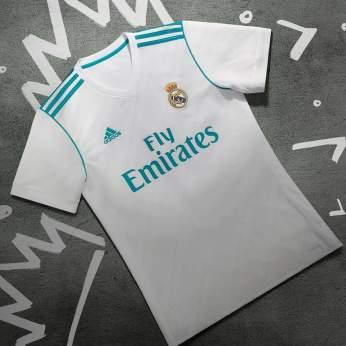 Home kit: Real Madrid 17-18 (adidas)