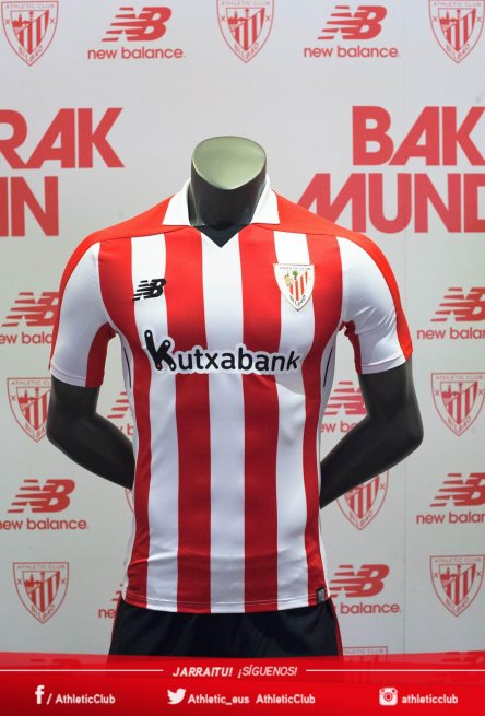 Home kit: Athletic, 2017-18