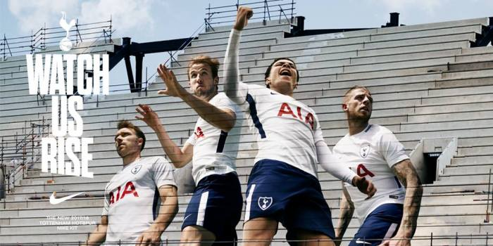 O novo visual do Tottenham Hotspur