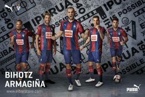 Camiseta do Eibar 17-18 (Puma)