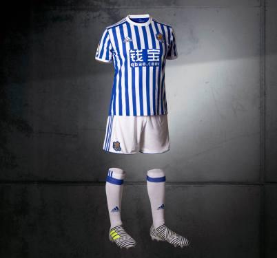 Camiseta da Real Sociedad (adidas)
