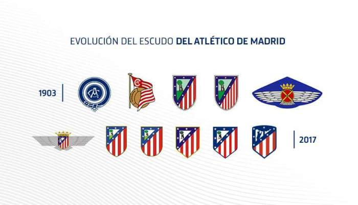 Novo visual do Atlético de Madrid