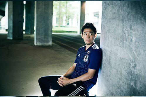 S e n s a c i o n a l a camisa dos samurais azuis.