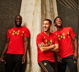 Bélgica - home shirt 2018- adidas