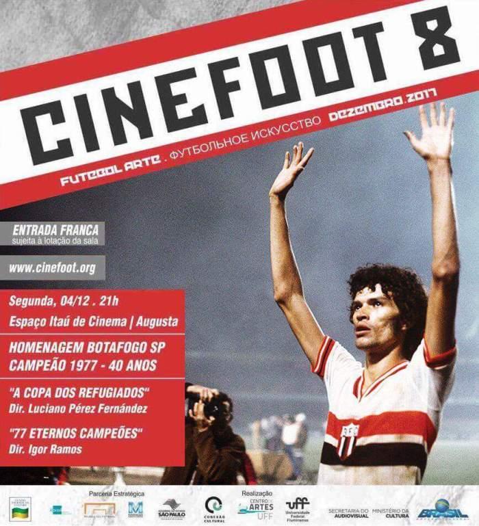 Grande noite de Cinefoot emSampa