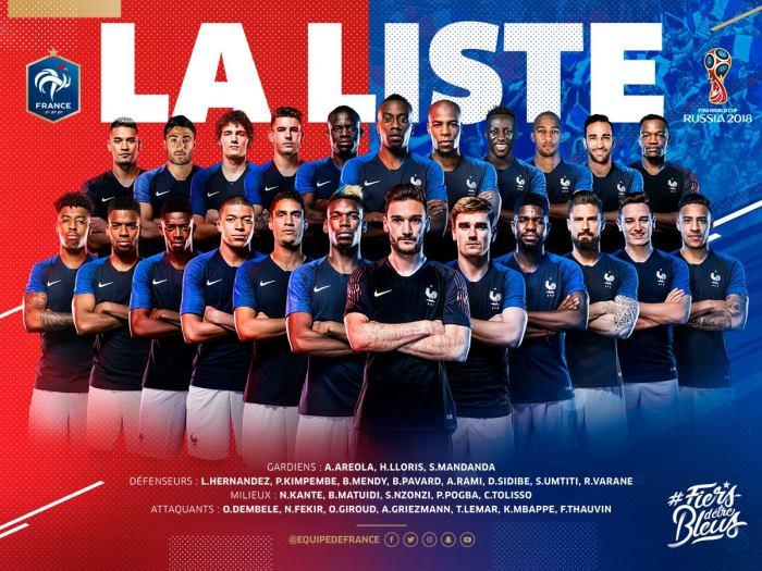 Les Bleus 2018