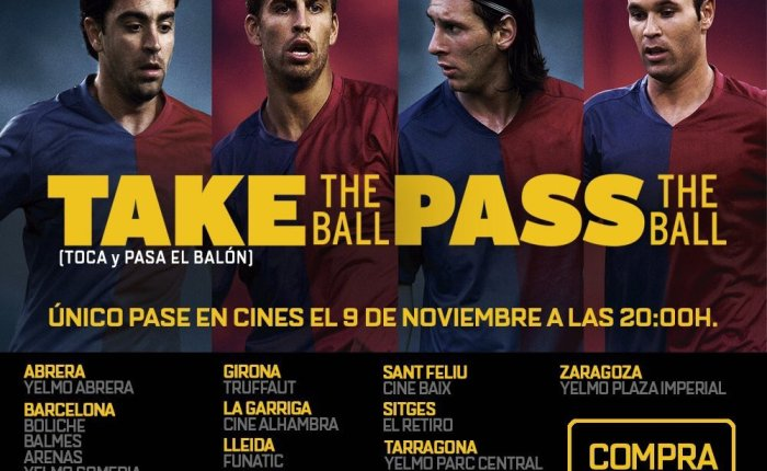 "Bola na Tela: ""Take the Ball, Pass the Ball""."