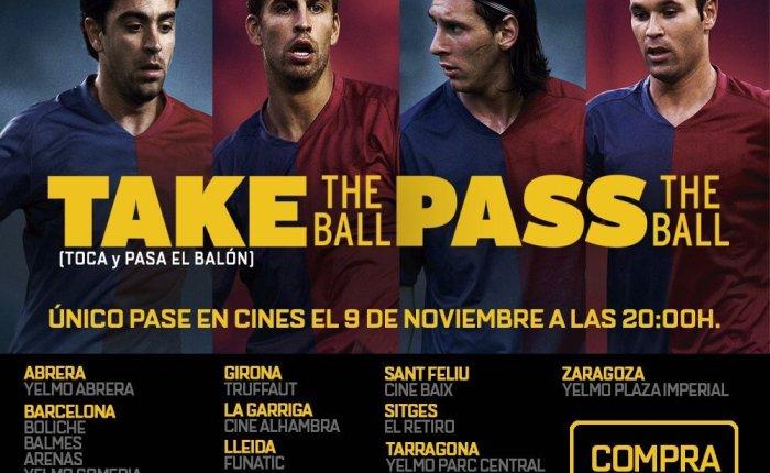 "Bola na Tela: ""Take the Ball, Pass theBall""."